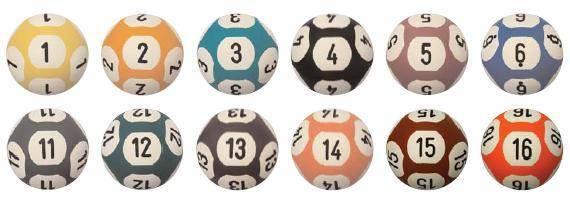 lottery /bingo rfid ball