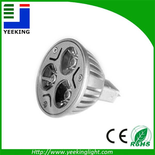 high power 6W LED spot lights,indoor lighting with 3 years warranty and CE RoHS certification