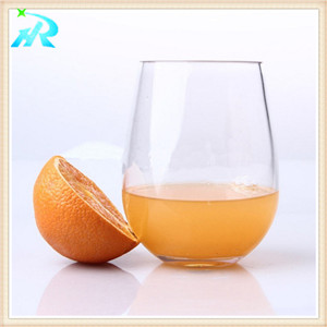 hot sale high quality wine glasses plastic