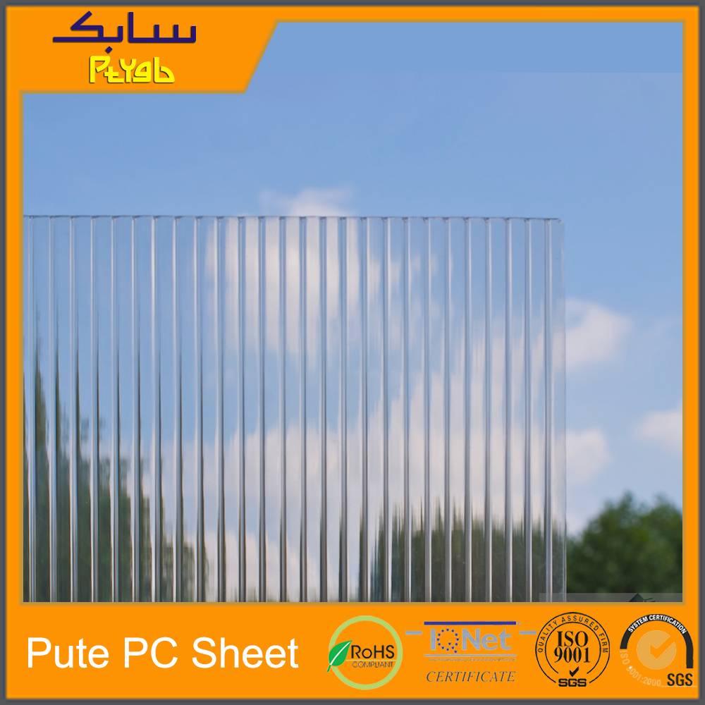 UV Protection Multi Span Polycarbonate Panel Manufacturer