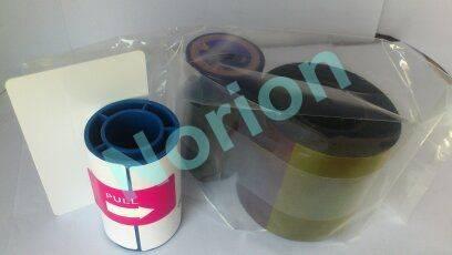 DIC10580 YMCKO EDIsecure Ribbon 250Prints Matica DCP350