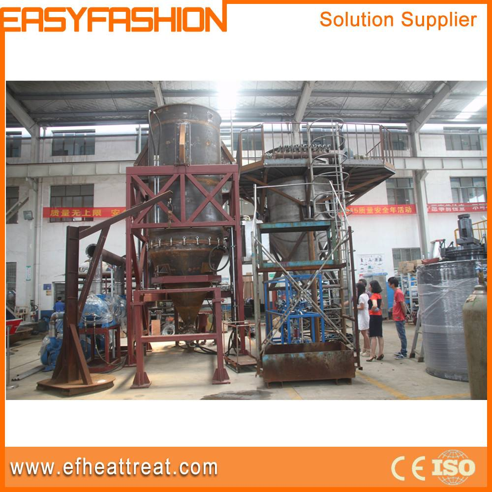 Vacuum atomizing equipment/furnace for making metal powder
