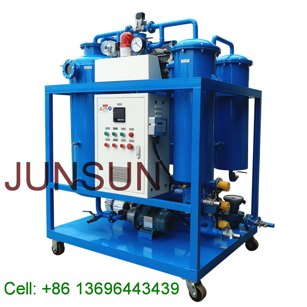 High Quality Turbine Oil Filtration Plant, Used Turbine Oil Reconditioning Machine