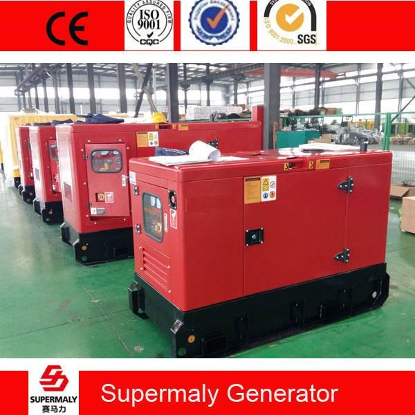 Silent 80KVA 60KW Diesel Generator by Perkins 1104A-44TAG1