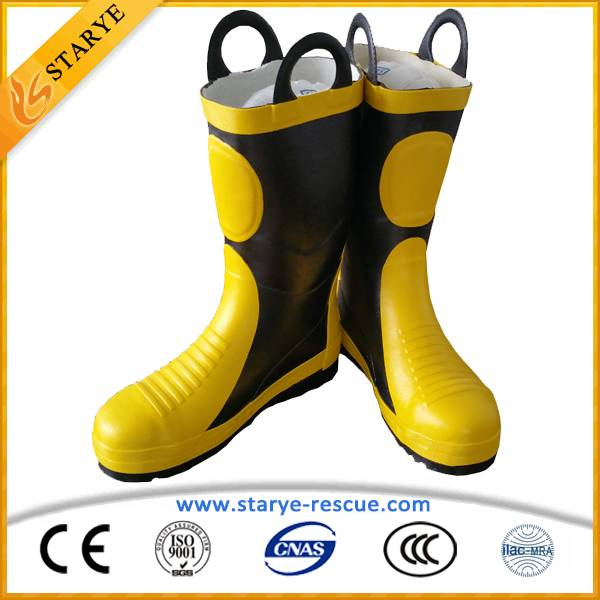 High Temperature Resistance Fire Fighting Safety Boots