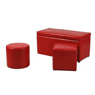 Home storage bench ottoman