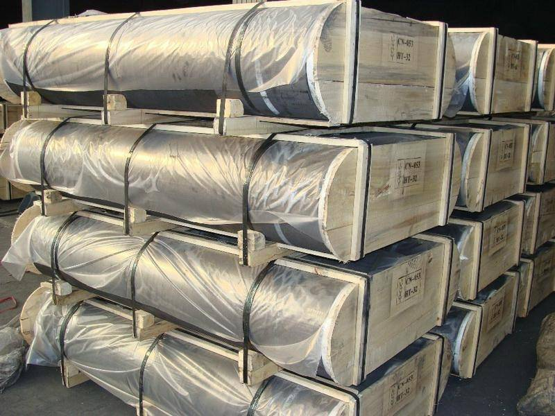 High quality used graphite electrode sales