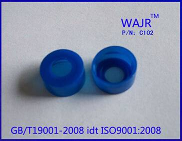 11mm Blue Snap-top Polypropylene Cap usd for lab bottles,autosampler vials etc.