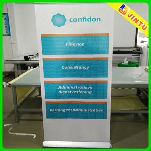 Custom roll up banner stand