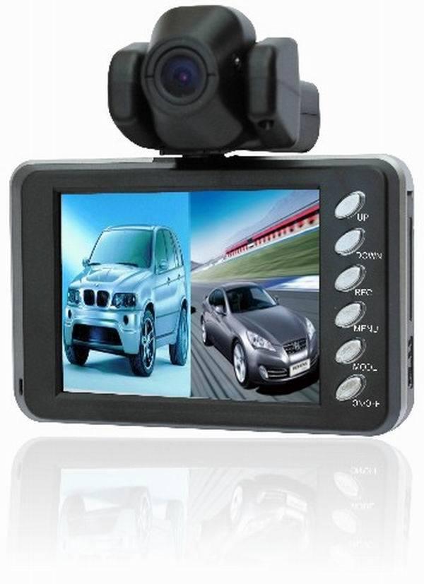 2 camera car DVR