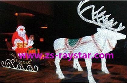 zhongshan raystar Santa Claus 2000leds 220v IP44