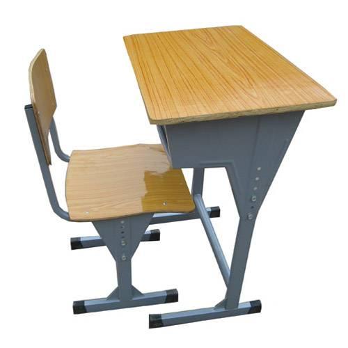 supplier height adjustable school student desk and chair/School chair and desk set for students