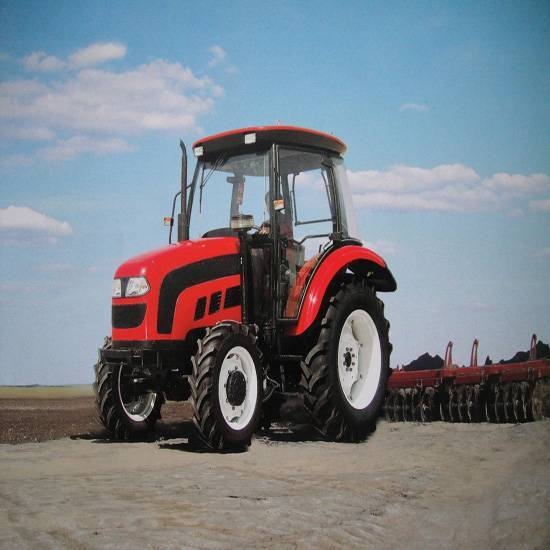 70hp big farm tractor