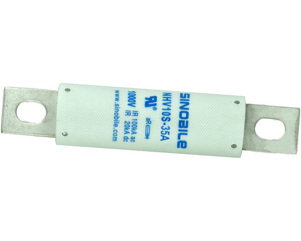 Industrial fuses, semiconductor protector, 1000V AC/DC, 35A, for EV battery pack