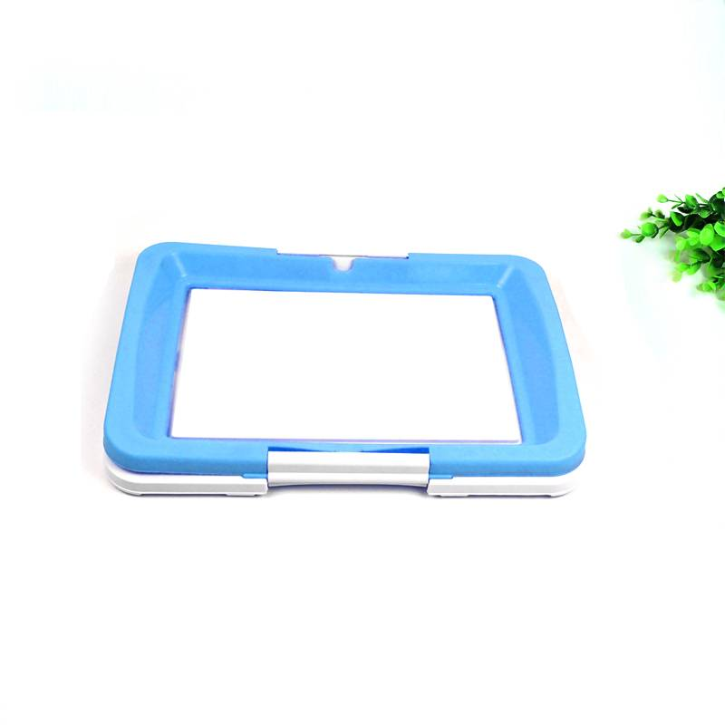 Pet Dog Toilet Mat Tray Pad Indoor Pet Potty Toilet Puppy Pee Training Clean Pot