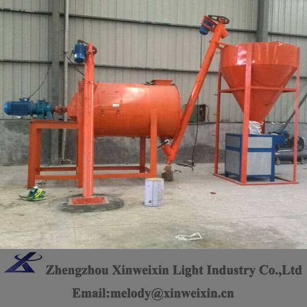 dry powder mixer with easy operation