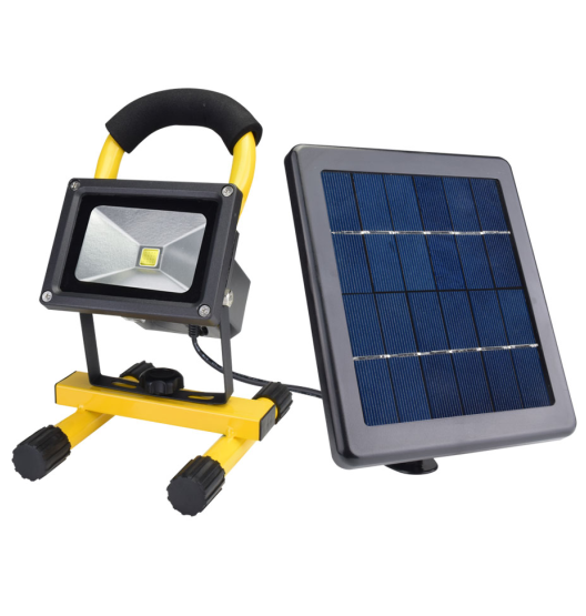 Portable solar Waterproof LED flood lights work light