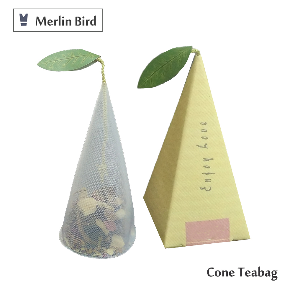 Private Label Cone Flower Teabag
