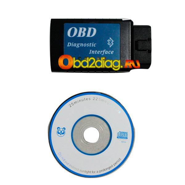 ELM327 Bluetooth Version CAN BUS EOBD OBDII Scan Tool