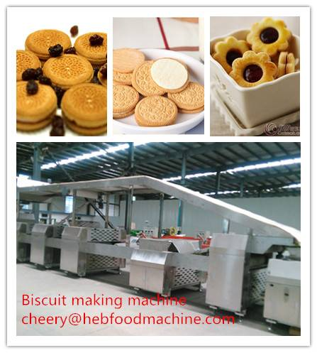 food factory new design hard biscuit machine