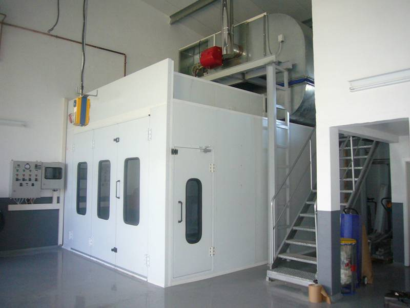 315 Kw Heating Exchanger Car Paint Spray Booth
