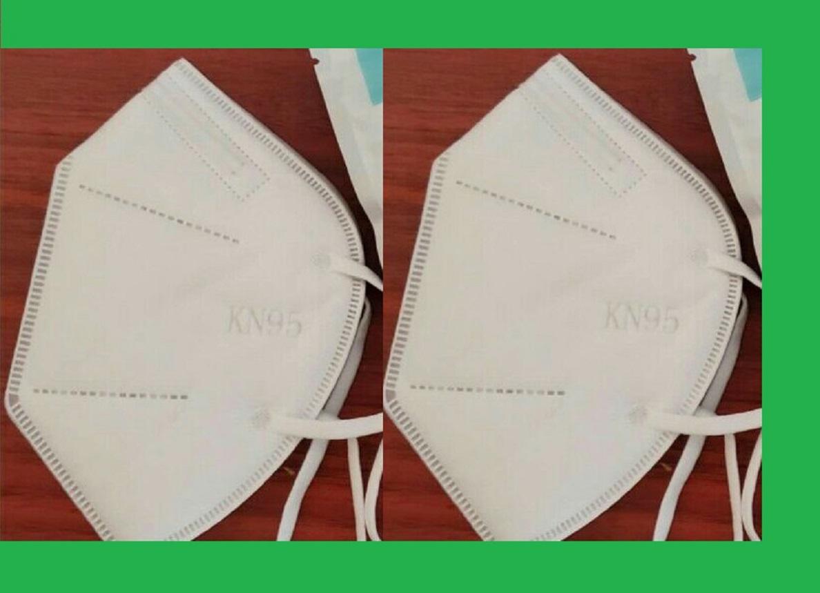KN95 respiratory protective face mask, CE EN149: 2001+A1:2009 particulate respirator