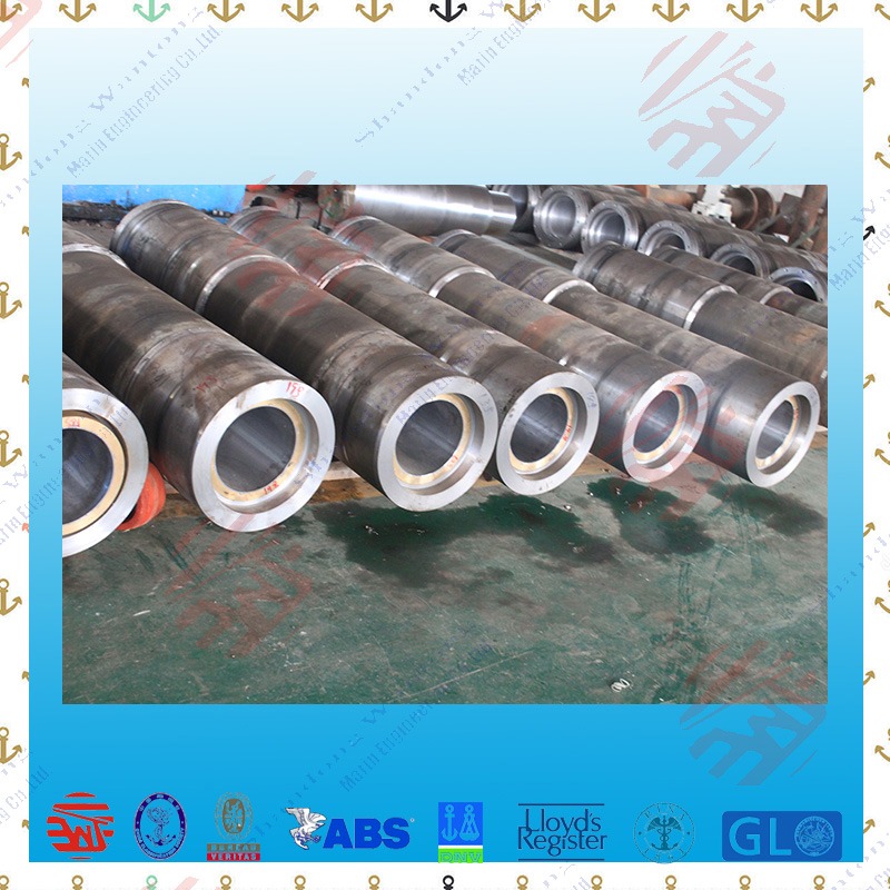 Marine forged steel stern tube for ship