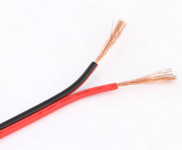 Environment friendly PVC insulated flat installation wire RVB2*1.5mm2
