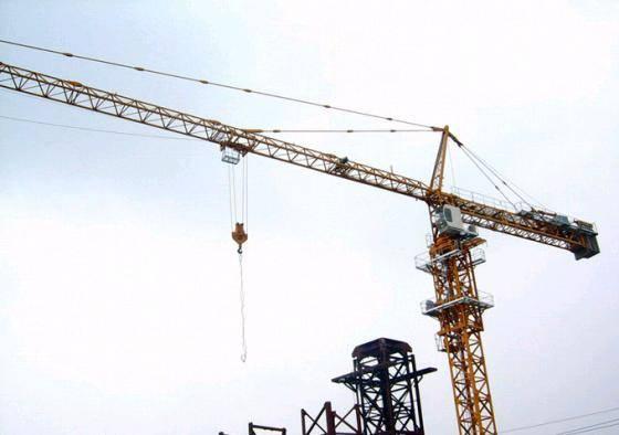 Crane QTZ100 (TC6012) max load 10t-Shandong Mingwei