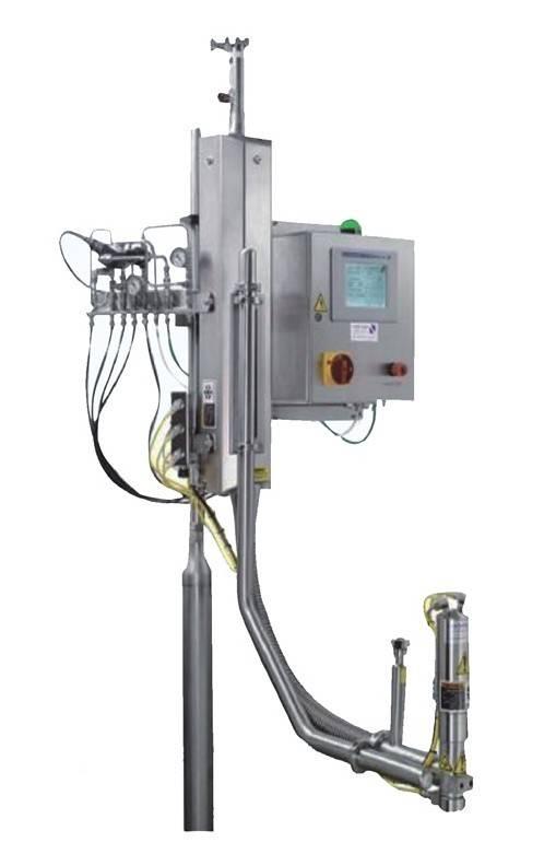 liqiud nitrogen dosing machine