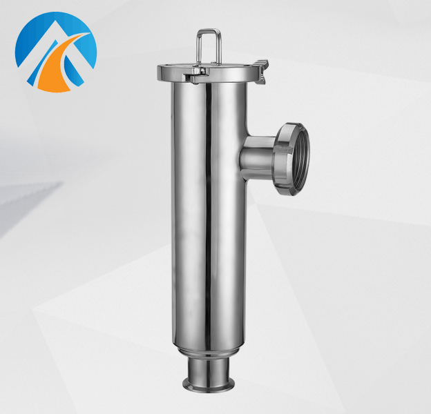 Sanitary stainless steel filter