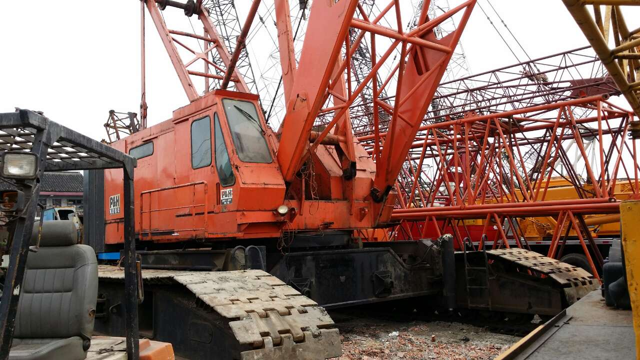 Japan original used crawler crane Kobelco 150 ton 50 150 ton 250 ton crawler crane for sale