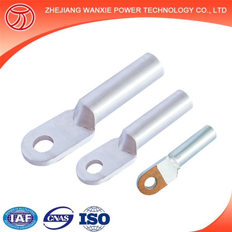 Oil seal Aluminium terminal lug types double holes series Aluminium cable connector