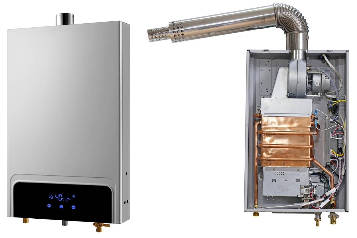 gas water heater, balance type