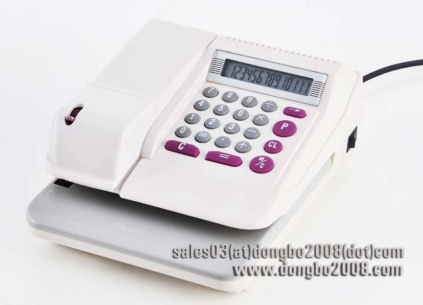 check writer & check printer DB310