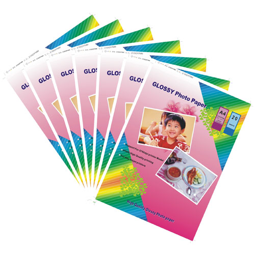 RC Premium Glossy Photo Paper 260g in A4, 20sheets