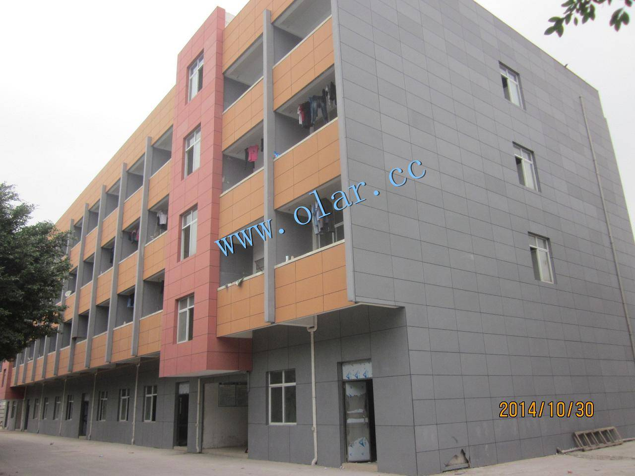 Fiber Cement Panel--External Wall Cladding or Facade