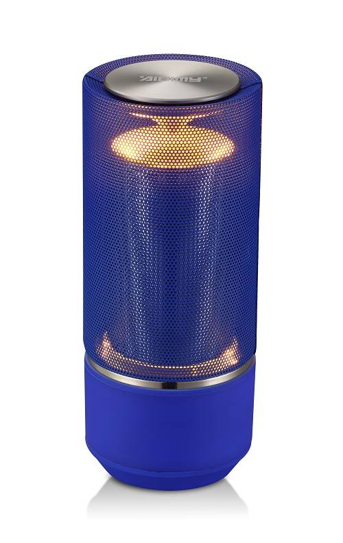Bluetooth speaker with power bank and led lamp