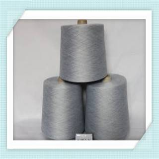 Recycled carded yarn
