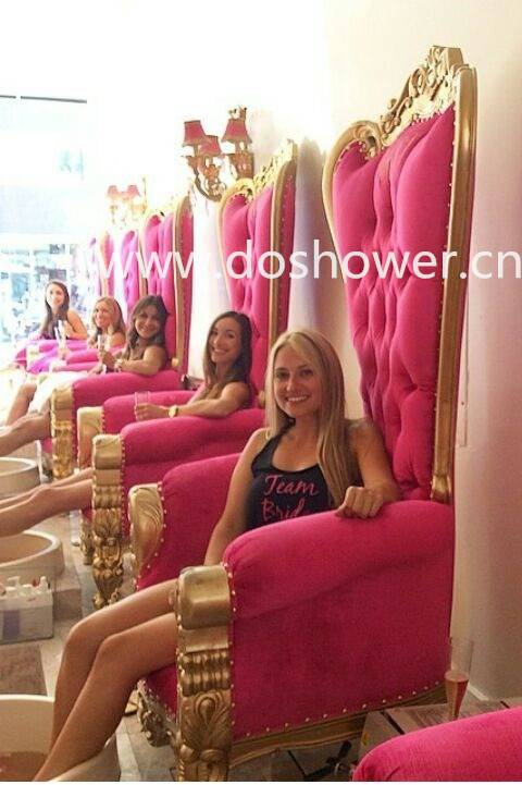 Doshower queen pedicure chairs of luxury throne spa pedicure chairs