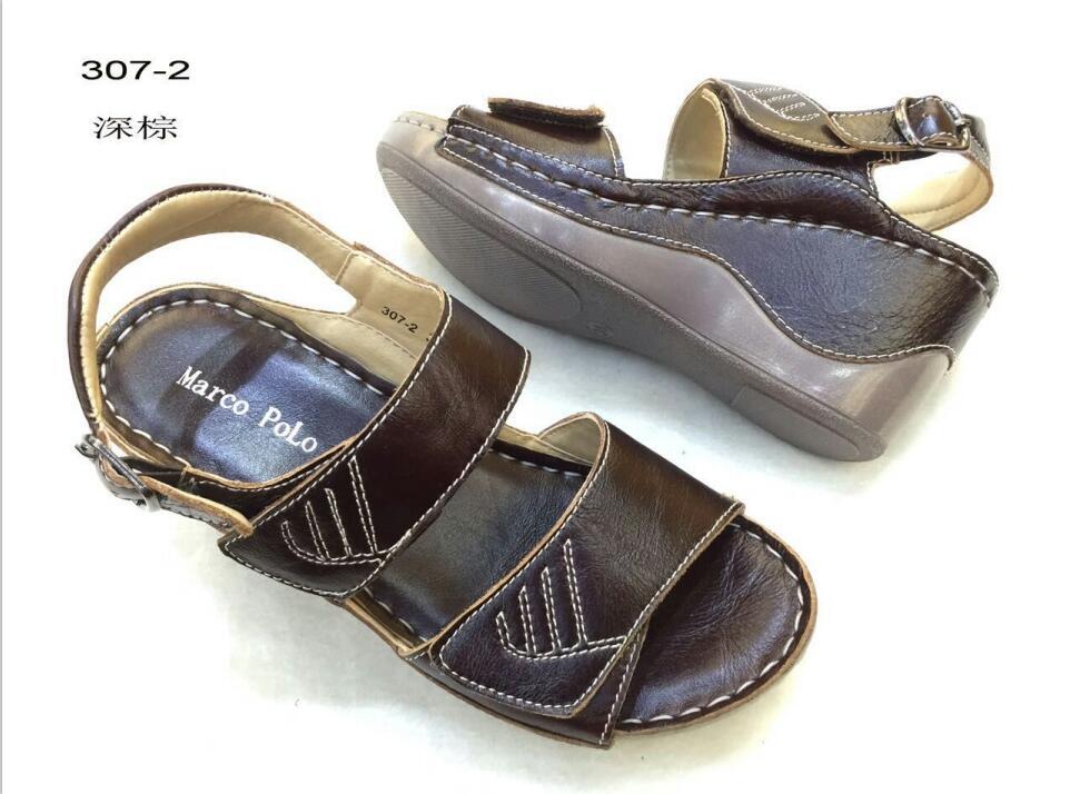 leather sandal for women