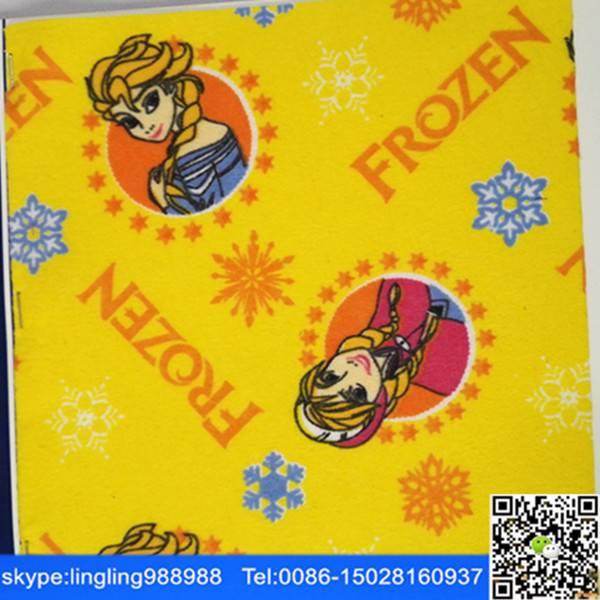 C 24x13 40x42 pigment print flannel fabric factory