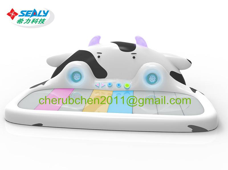 Amusement arcade game for sales soft playground music cow cow