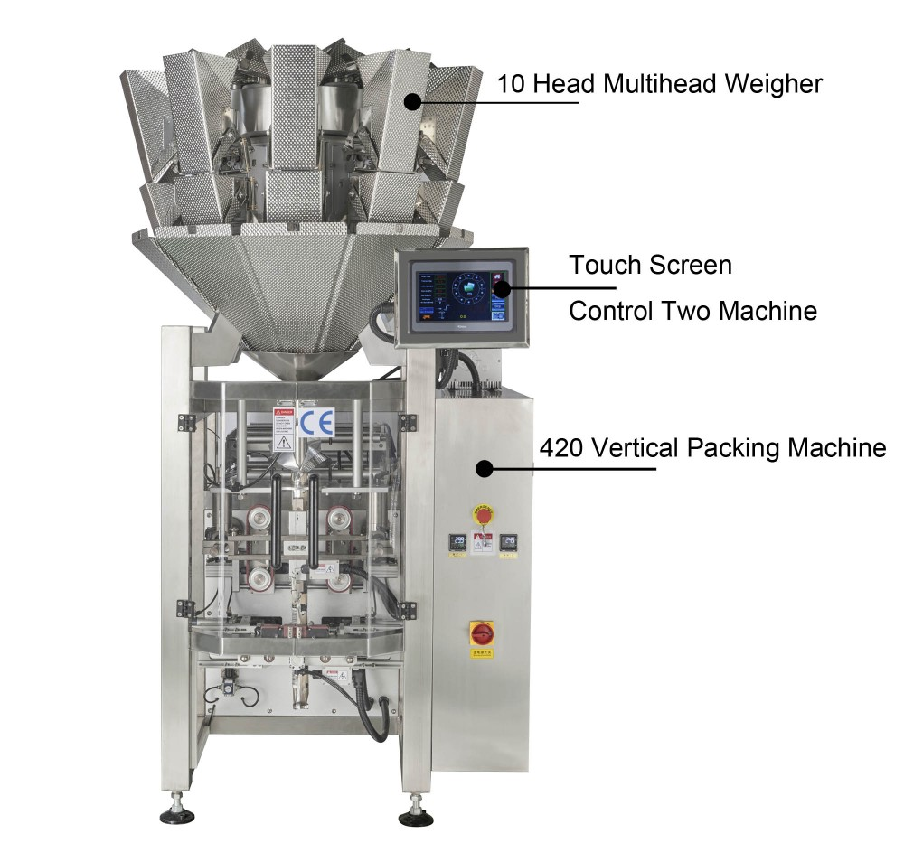 Small Economic Automatic Snack Grocery Packing Machine