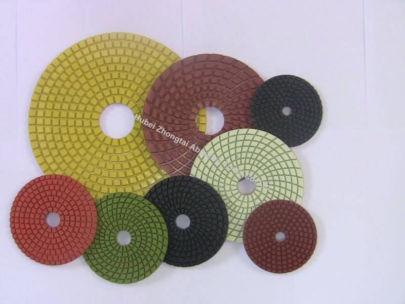 diamond wet grinding polishing pads