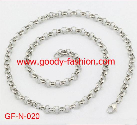 best selling fashion stainless steel O shape for necklace