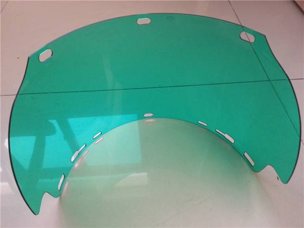 High quality color polycarbonate thermoforming part/factory price