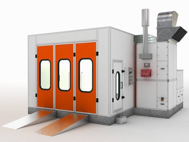 Spray Paint booth,Coating Machine