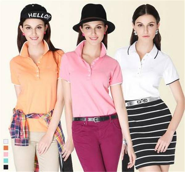 China wholesale latest polo designs for women made in china