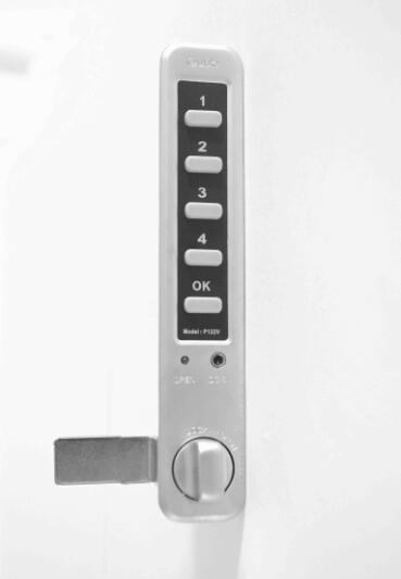 Electronic digital combination lock drawer locks cylinders locks P122EV